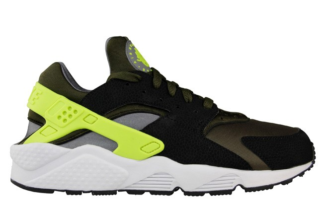Nike Air Huarache Dark Loden/Volt Men's Shoe