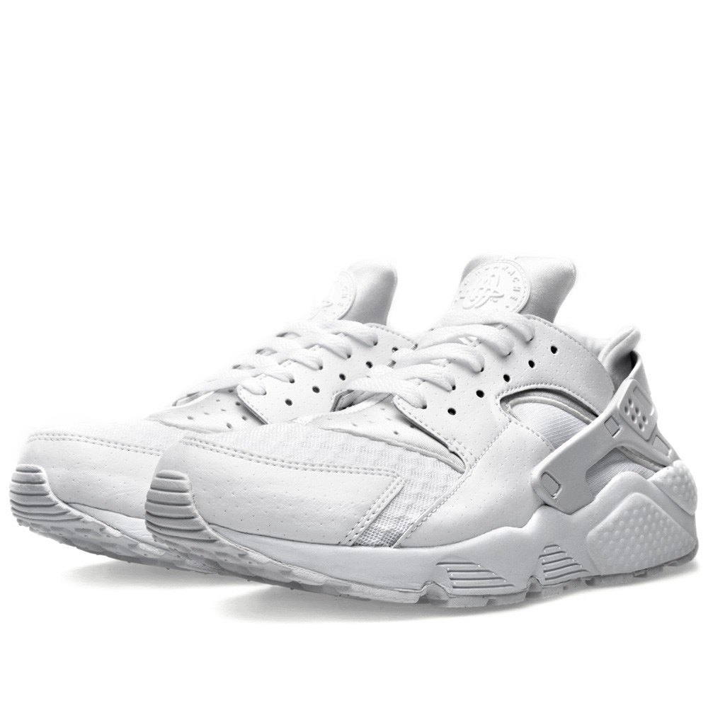 Nike WMNS Air Huarache All (Triple) White 318429-111 White/Pure Platinum Womens Running Shoes