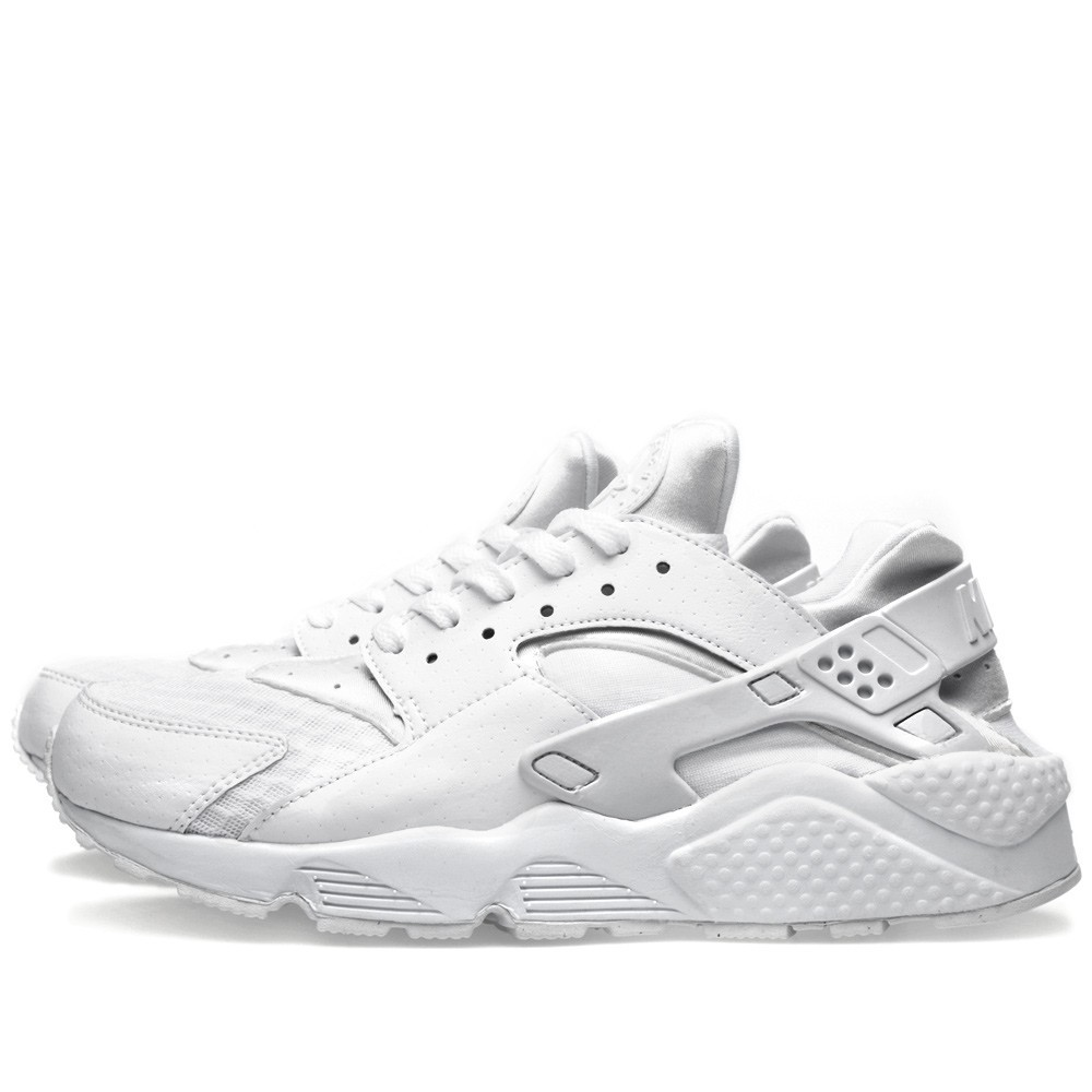 Nike Air Huarache All White 318429-111 White/Pure Platinum Men's Shoe