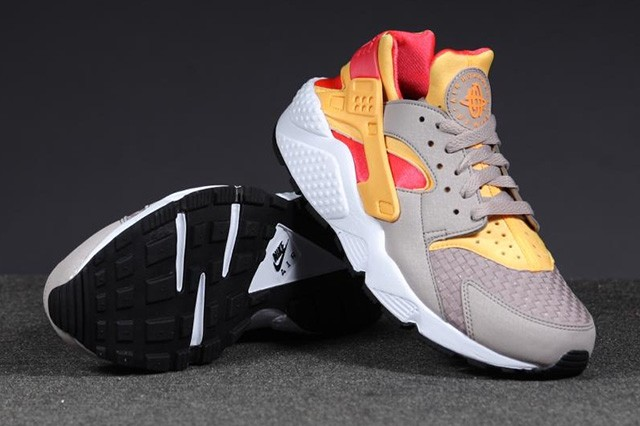 Nike Air Huarache Woven Atomic Mango Laser Crimson Men's Shoe