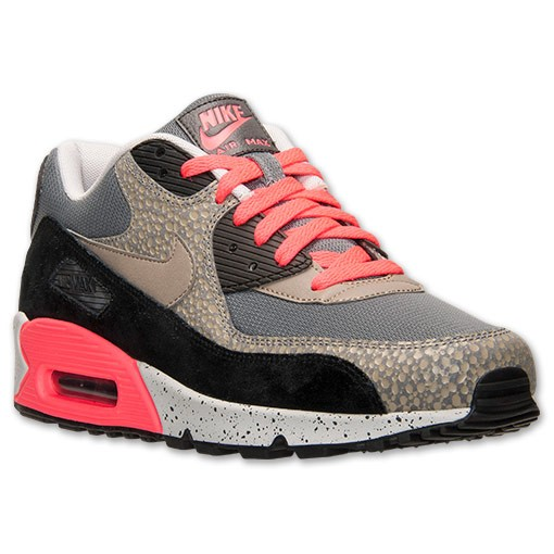 Nike Air Max 90 Premium PRM Safari 700155 006 Cool Grey/Bamboo/Black Men's Shoe