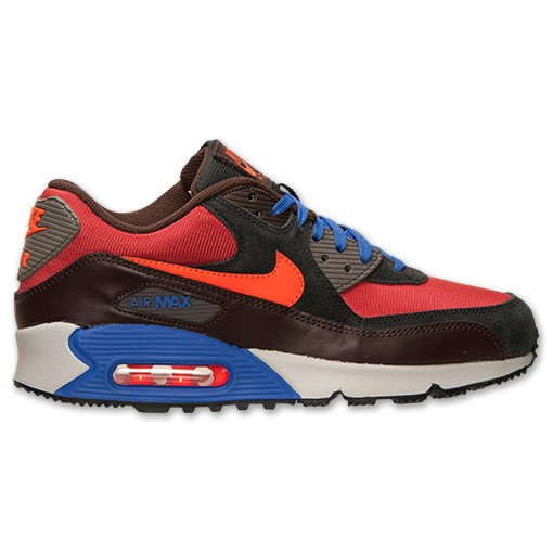 Nike Air Max 90 Winter Premium 683282 600 Red Clay/Hyper Crimson/Black Men's Shoe