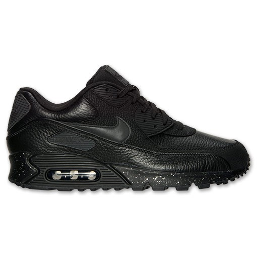 Nike Air Max 90 Premium 333888 034 Black/Metallic Silver Women's & Men's Shoe