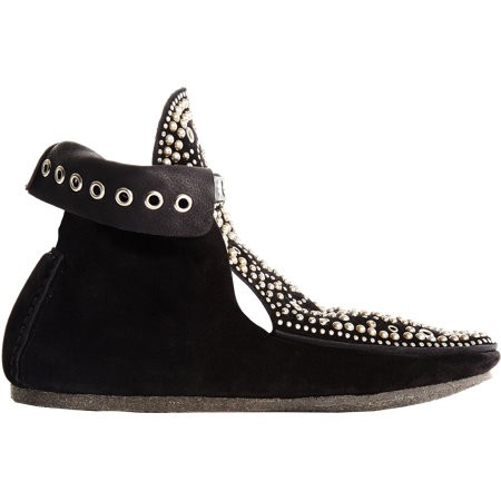 Isabel Marant Morley Studs Boot 503160136 Black for Women