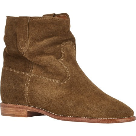 Isabel Marant Étoile Crisi Ankle Boots 503765988 Khaki for Women