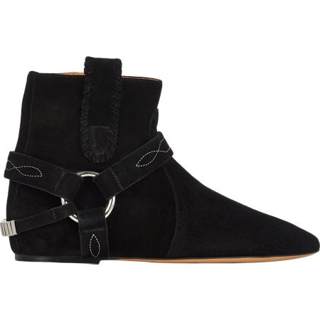 Isabel Marant Étoile Ralf Harness Boots 503765700 Black for Women