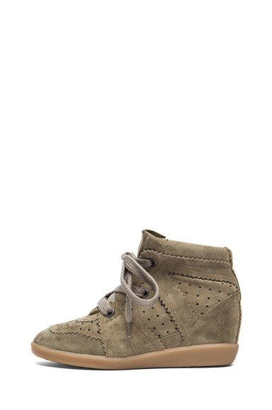 Isabel Marant Bobby Brown Women's Wedge Sneakers