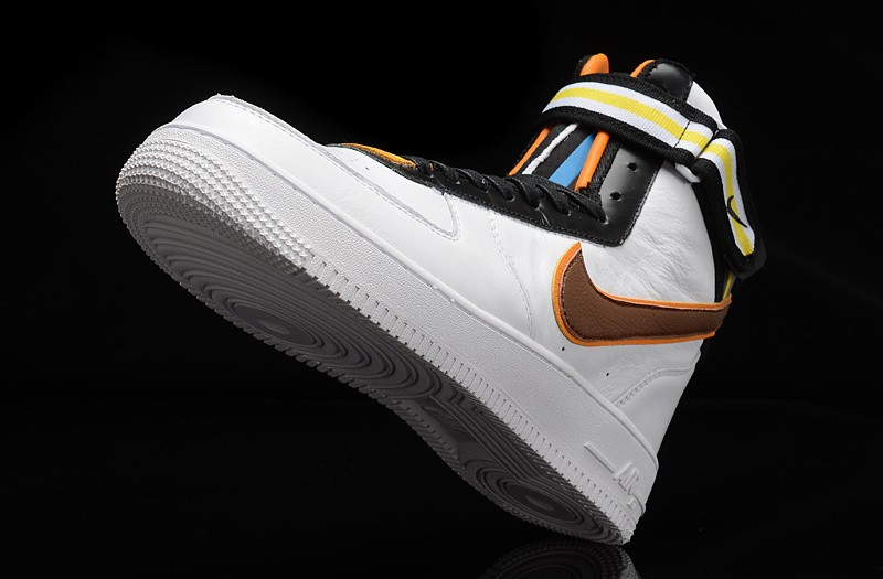 quality design 7a98e 93f44 ... Riccardo Tisci x Nike Air Force 1 High RT White Leather Sneakers ...