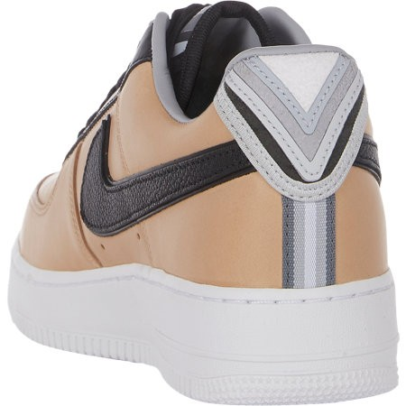 Riccardo Tisci x Nike Air Force 1 Low RT 677130-200 Beige Black Grey Givenchy Vachetta Tan Leather Sneakers