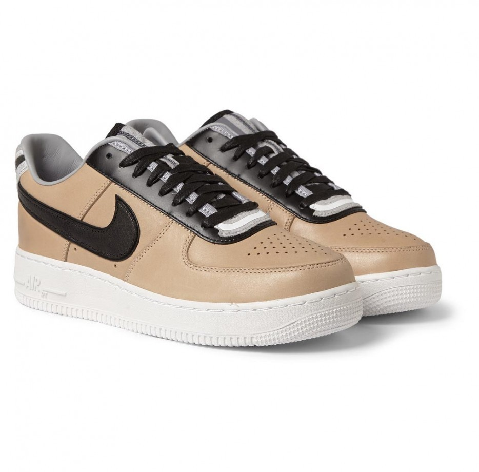 ... Riccardo Tisci x Nike Air Force 1 Low RT 677130-200 Beige Black Grey  Givenchy ...
