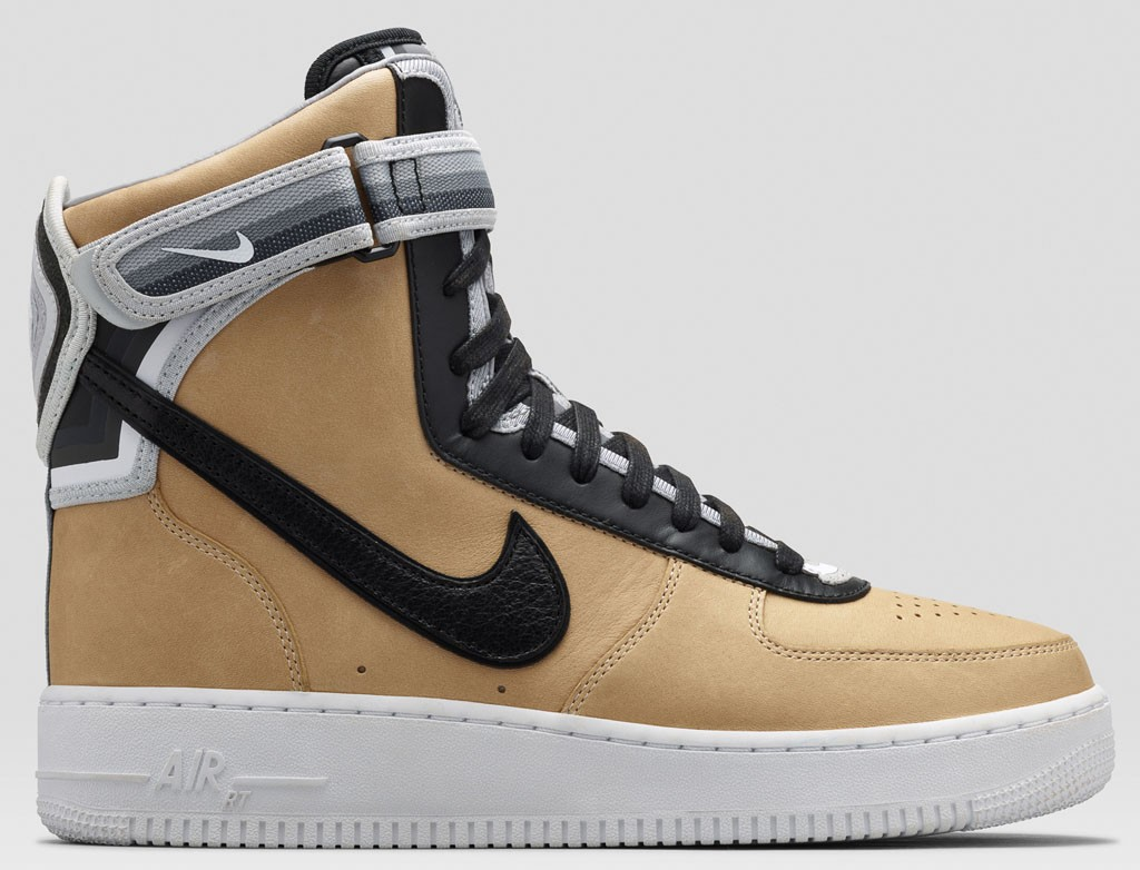Riccardo Tisci Nike Air Force 1 High Supreme Rt Beige Leather Sneakers