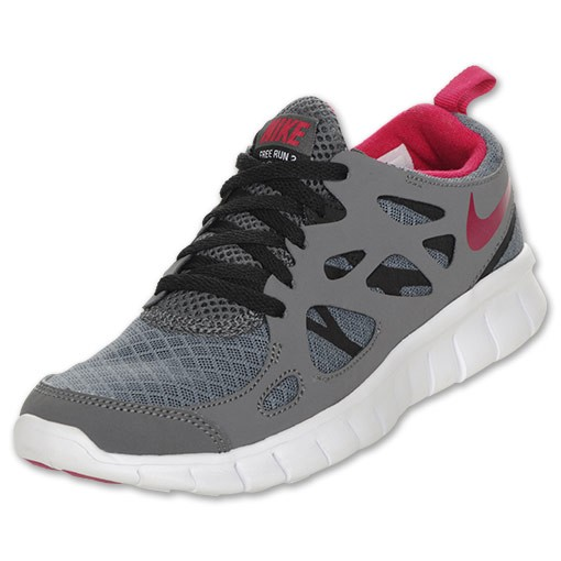 Nike Free Run 2 Dark Grey/Bright Cerise/Black Mens Running Shoes