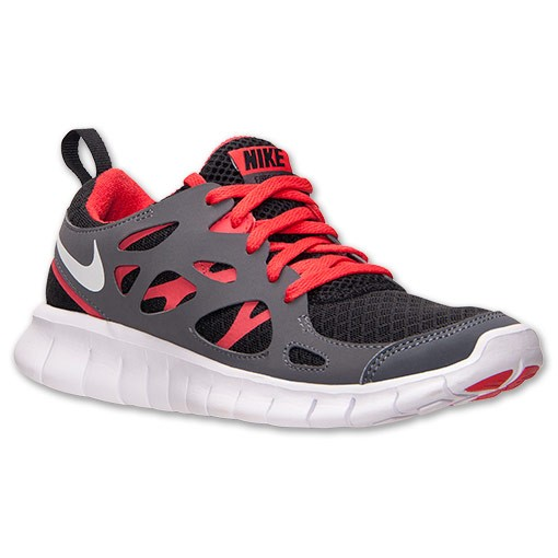 Nike WMNS Free Run 2 Black/White/Light Crimson Womens Running Shoes