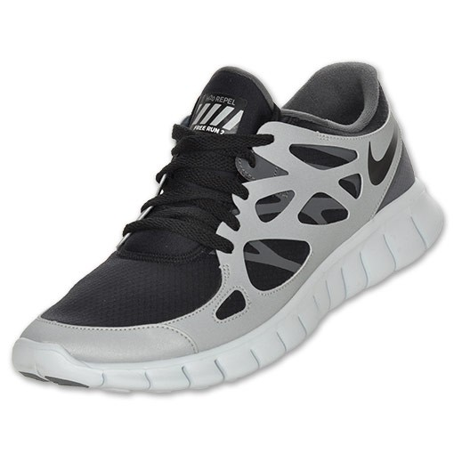 Nike Free Run+ 2 Shield 472519 020 Grey/Black Mens Running Shoes