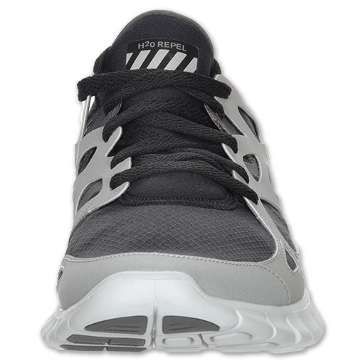 edcad9da4ad7 Price  62 Nike Free Run+ 2 Shield 472519 020 Grey Black Mens Running ...