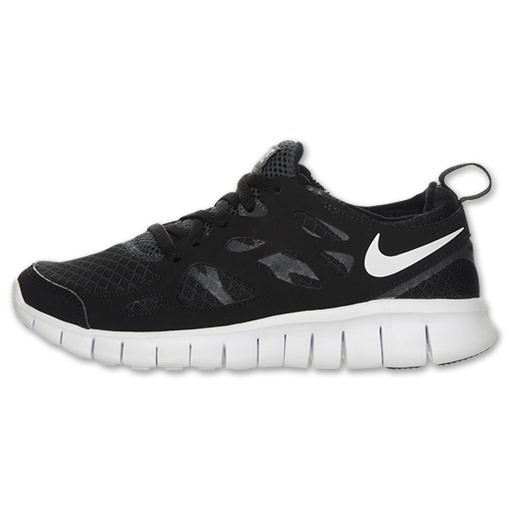 Nike Free Run 2 Black/White Mens Running Shoes