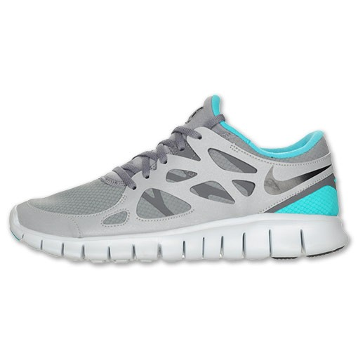 Nike WMNS Free Run+ 2 Shield 472526 003 Turquoise/Grey/Shield Womens Running Shoes