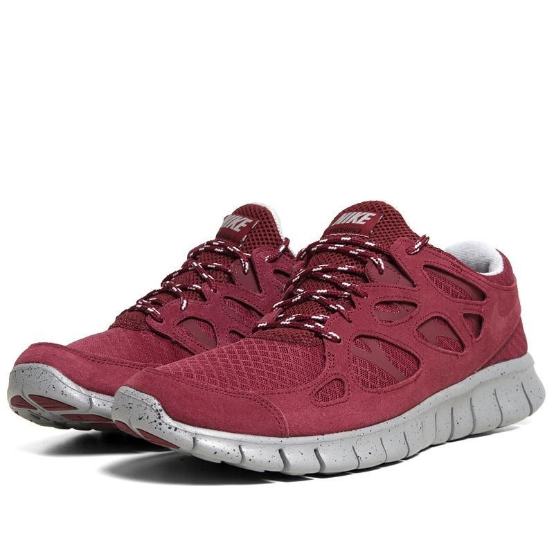 Nike WMNS Free Run 2+ 537732 660 Team Red Womens Running Shoes