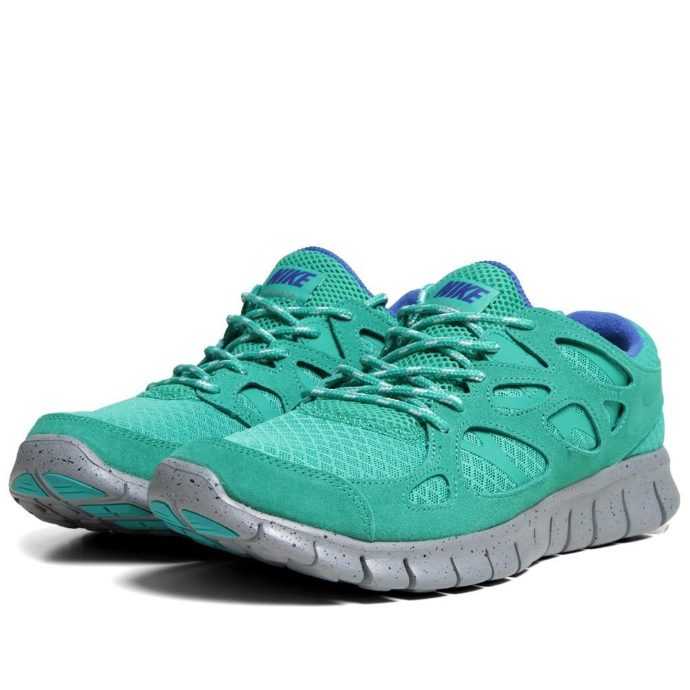 Nike Free Run 2+ 537732 330 Stadium Green Mens Running Shoes