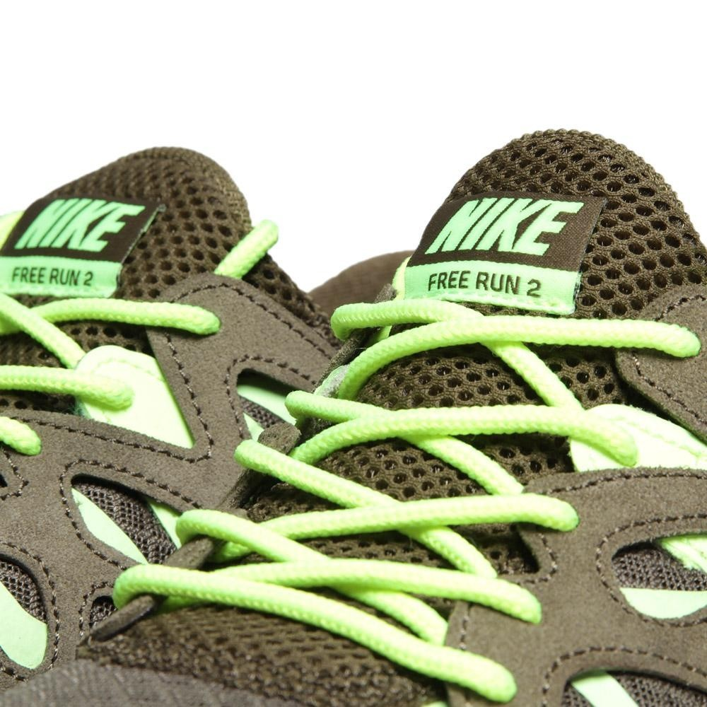 ... Nike Free Run + 2 EXT 555174-337 Squadron Green Mens Running Shoes ...