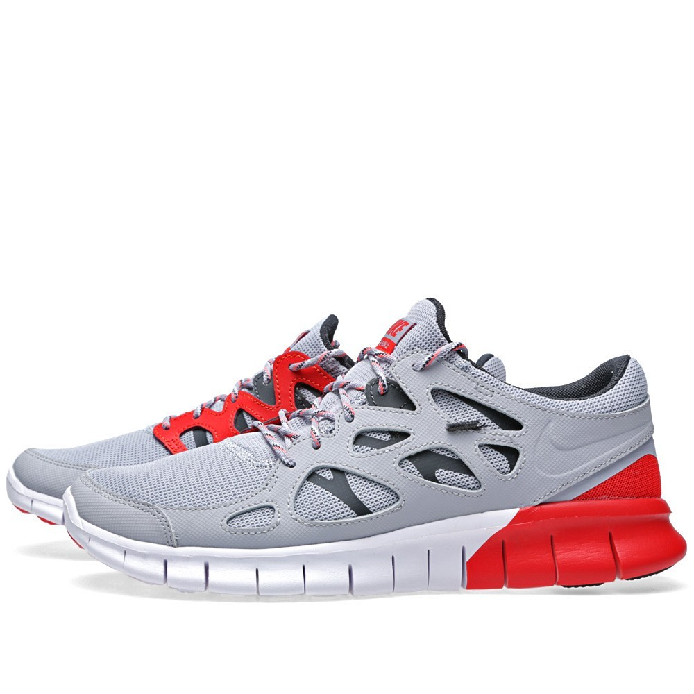 Nike Free Run 2 537732-005 Wolf Grey/Anthracite Mens Running Shoes