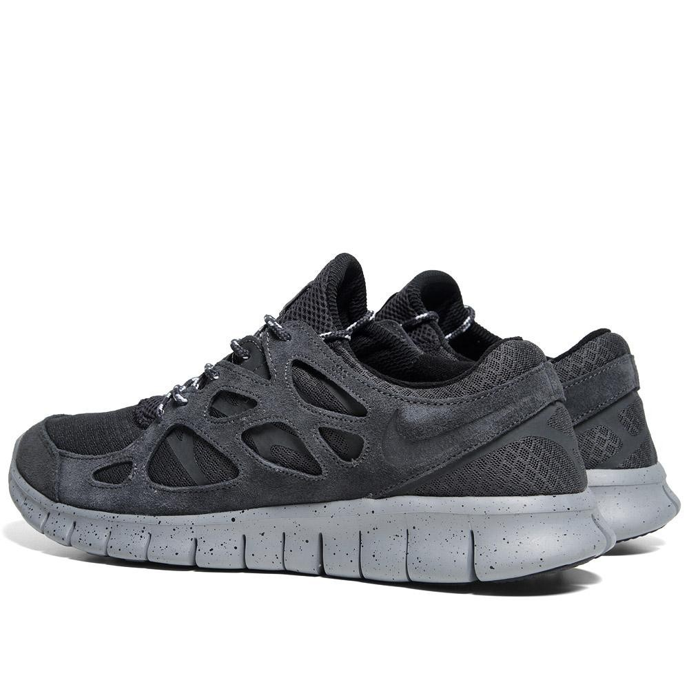 Nike WMNS Free Run 2+ 443815 010 Anthracite Womens Running Shoes