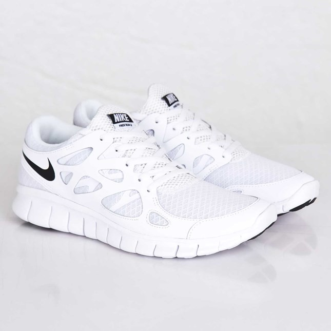Nike WMNS Free Run 2 NSW 540244-101 White/Black/White Womens Running Shoes