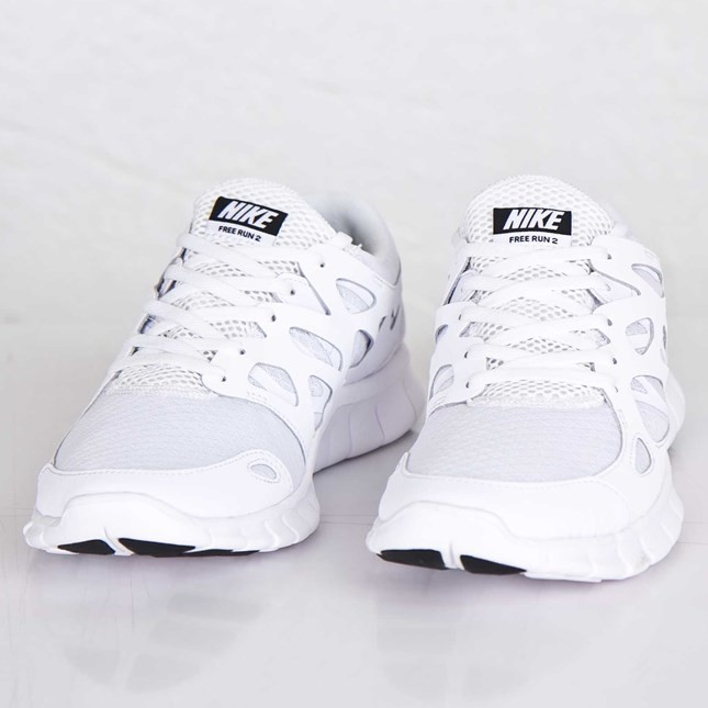 522f1cce9275 ... Nike Free Run 2 NSW 540244-101 White Black White Mens Running Shoes ...