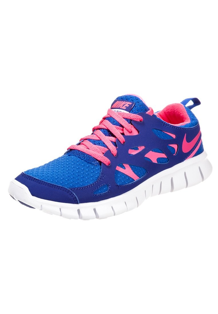 Nike Free Run 2+ Game Royal/Hyper Pink/Deep Royal Blue/White Mens Running Shoes