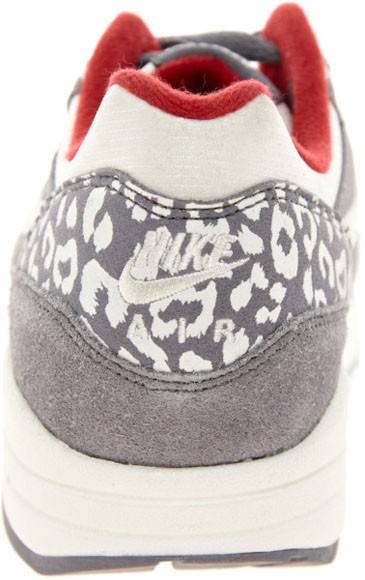 Nike WMNS Air Max 1 Leopard Grey White Womens Casual Shoes