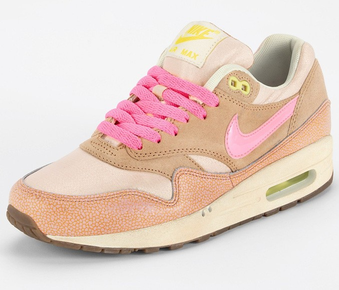 Nike WMNS Air Max 1 Metallic Pink Womens Casual Shoes