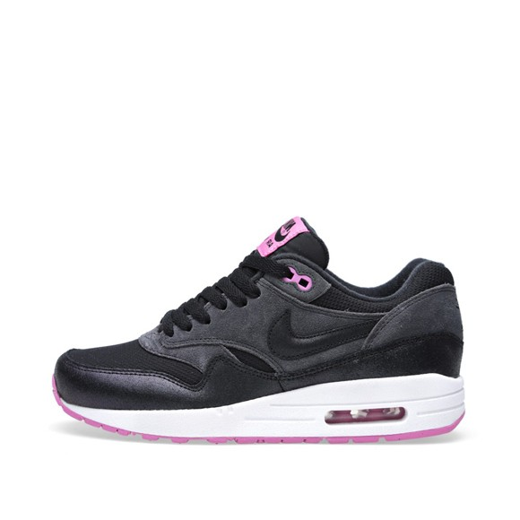 Nike WMNS Air Max 1 Essential Anthracite Black Red Violet Women's Shoe