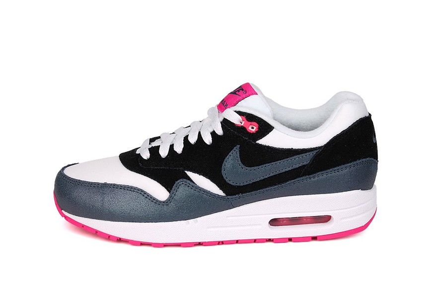 Nike WMNS Air Max 1 Essential Armoury Blue Navy Pink Women's Shoe