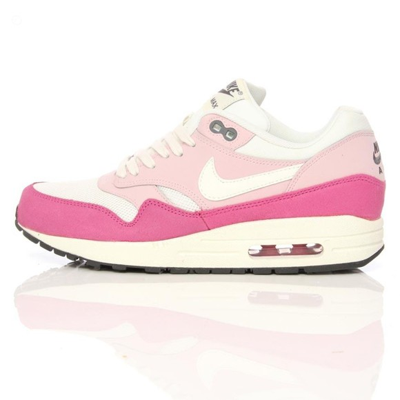 Nike WMNS Air Max 1 Essential Sail Arctic Pink Ladies Fashion Trainers
