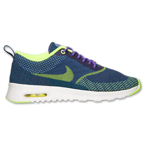 Nike WMNS Air Max Thea Jacquard 654170 500 Hyper Grape Volt Summit White Women's Shoe