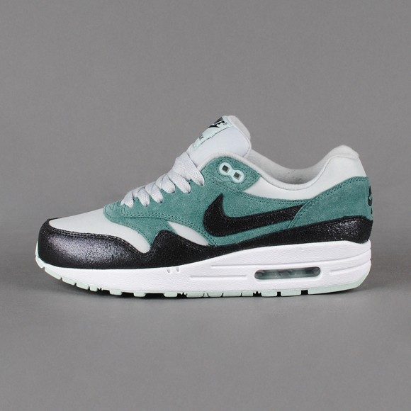 Nike WMNS Air Max 1 Essential Dusty Grey Black Mineral Ladies Fashion Trainers