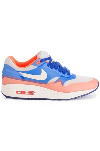 Nike WMNS Air Max 1 Hyperfuse Premium Hyper Blue Total Crimson Womens Running Shoes