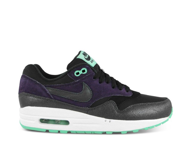 Nike WMNS Air Max 1 Essential Purple Dynasty Anthracite Black Mint Green Women's Shoe