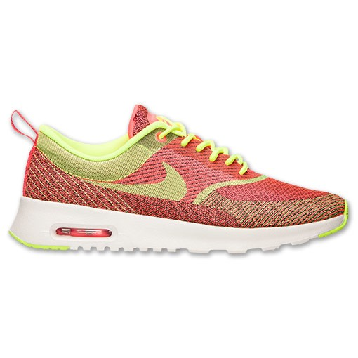 Nike WMNS Air Max Thea JCRD 666545 607 Hyper Punch Volt Black Ivory Women's Shoe