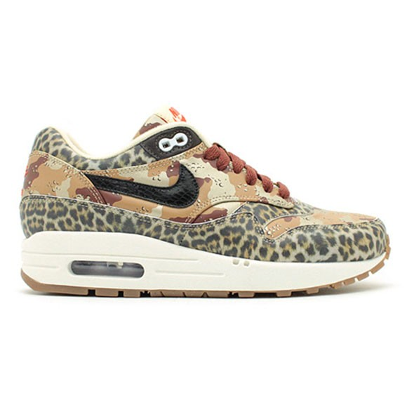 Nike Air Max 1 Prm Desert Camo Leopard Men's Casual Running Shoe