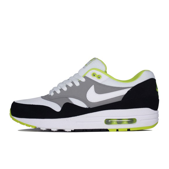 Nike Air Max 1 Essential Medium Grey White Mens Running Shoes