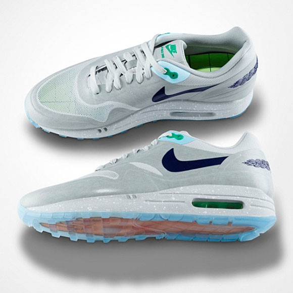 brand new e8ca0 53ccd ... uk nike air max 1 clot sp kiss of death 2nd mens running shoes ccc52  b0ab5