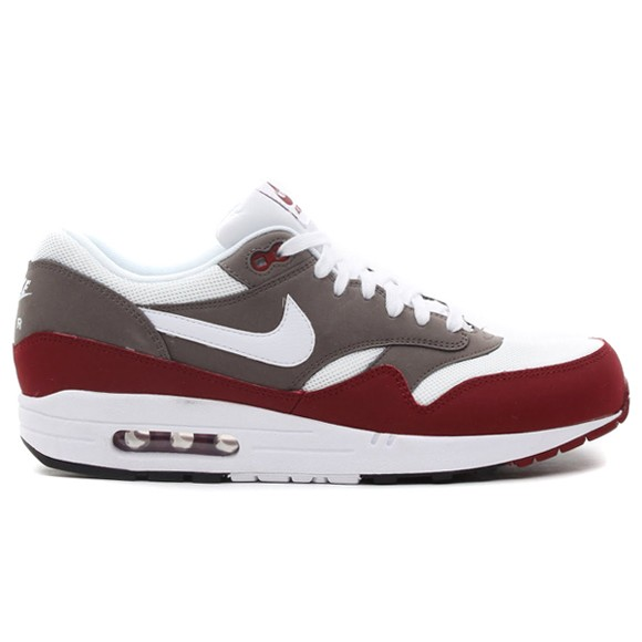 Nike Air Max 1 Essential Team Red Petra Brown Black White Men's Shoe