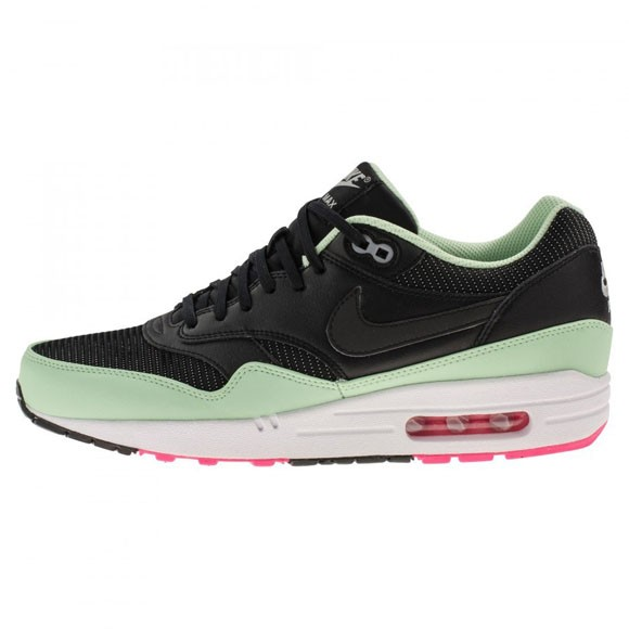 Nike Air Max 1 Yeezy FB Fresh Mint Pink Flash Black Men's Shoe