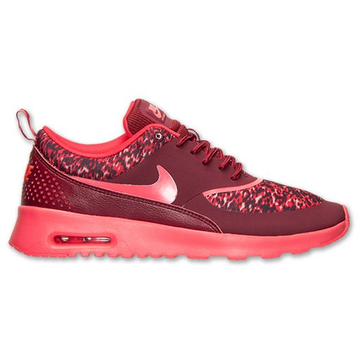 Nike WMNS Air Max Thea Print 599408 601 Team Red Action Red Deep Burgundy Women's Shoe