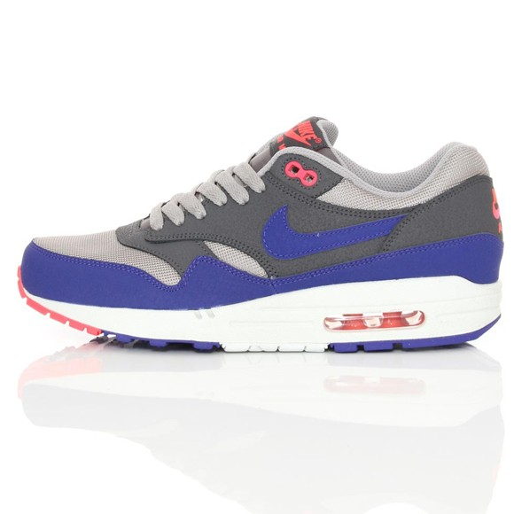 Nike Air Max 1 Essential Ultra Marine Medium Grey Mens Running Shoes