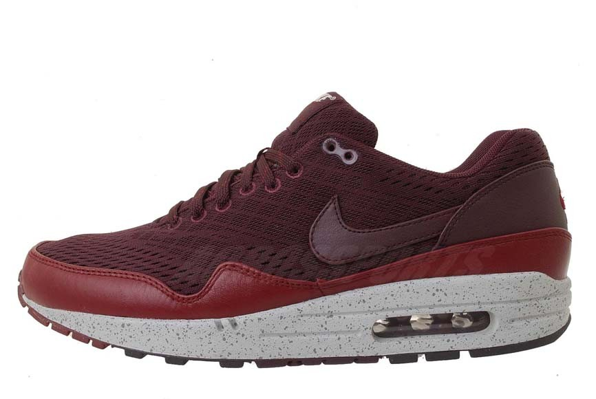 Nike Air Max 1 EM London Deep Red Mens Running Shoes