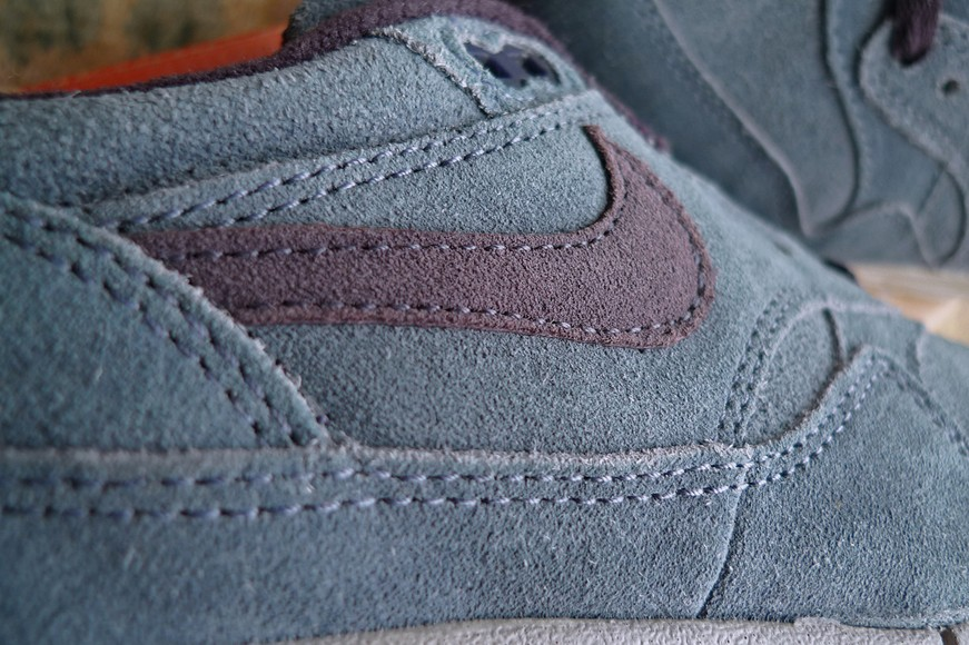 Nike Air Max 1 Grey Slate Cave Purple Lightblue Men's Shoe