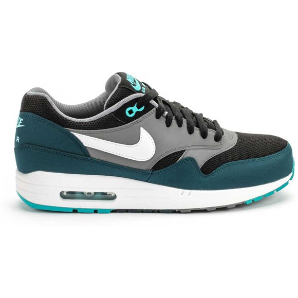 Nike Air Max 1 Mid Turquoise Black White Men's Shoe