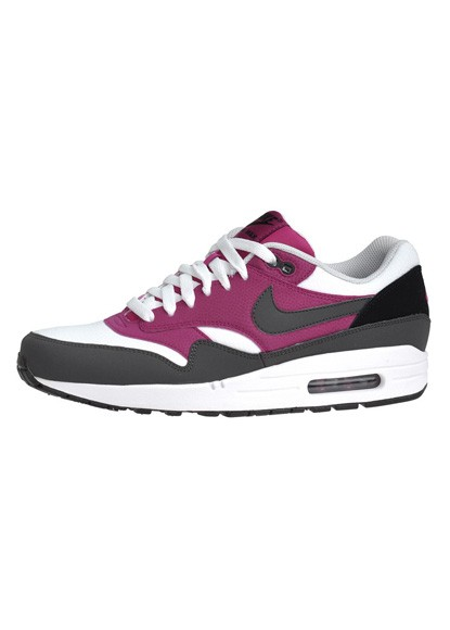 Nike Air Max 1 Essential White Dark Grey Bright Magento Men's Shoe